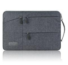 MacBook Pro/Air PCバッグ (15.6インチ.グレー)