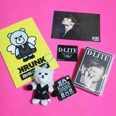 D-LITE/BIGBANG「KRUNK×BIGBANG」・【廃盤】PLAYBUTTONなど9点