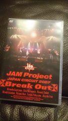 JAM Project「JAPAN CIRCUIT 2007 Break Out JAM Project」2枚組