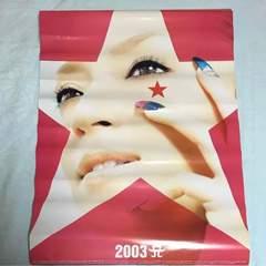 新品 ★K437/アイドルカレンダー/浜崎あゆみ 2003年/7枚組★