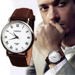 【訳あり激安】【送料無料】YAZOLE★メンズファッション腕時計Br