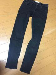 MANGO  黒パンツ EUR34 USA2