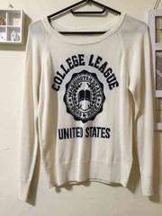 可愛いセーターフリーサイズ