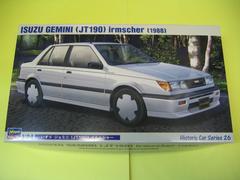 ハセガワ 1/24 HC-26 いすゞ ジェミニ (JT190) イルムシャー 新品 完全新金型