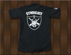 SYNDICATE★ワークシャツ・ギャングスタ★XL★黒★新品