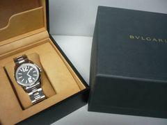 ブルガリ 超美品  ソロテンポ  ST37S  メンズ  時計