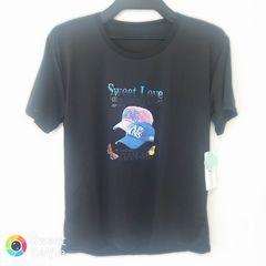 新品 半袖 Tシャツ M-L ブラック キャップ
