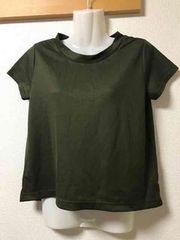 ★グローバルワーク  カーキTシャツ  S★