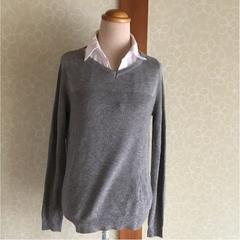 しまむら  襟付きセーター