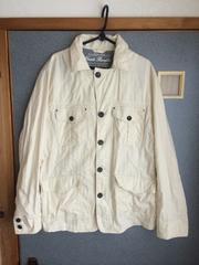 CREATE BAREFOOT シャツジャケット オフホワイト クリエイトベアフット 美品