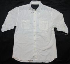 RAGEBLUE レイジブルー 5分袖シャツ 襟ワイヤー入 (袖裏ドット)