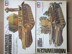 1/35 タミヤ ドイツ軍 対空戦車 メーベルワーゲン・ヴィルベルヴィント 2台セット