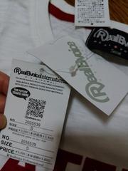 新品★激かわ『RealBvoioel  mational半袖Tシャツ』S=定価3990