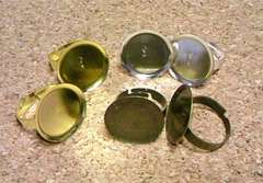 貼り付け用指輪20mm6個