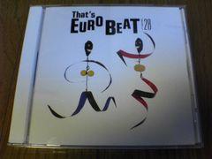 CD ザッツ・ユーロビートVol.28 廃盤