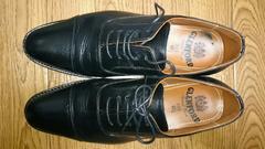 GLENFORD 革靴 40 1/2