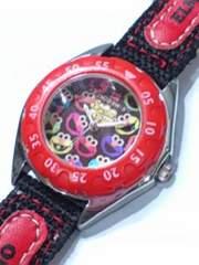 腕時計 セサミストリート エルモ 中古品ボロ