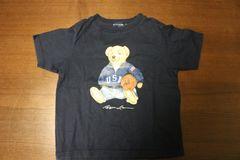 ラルフ Tシャツ 110cm 紺色 ベアー