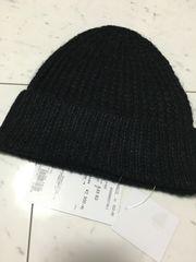 ROSE BUD シンプルニット帽/新品