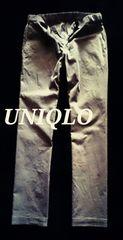 【UNIQLO】コーデュロイイージーパンツ M/Beige