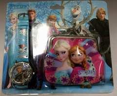 ★☆アナと雪の女王 時計&小銭入れのセット  アナ雪☆★