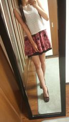 sponting&style白カットソー