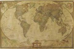 送料無料★世界地図 アンティーク風 ビンテージ レトロ 地球 マップ 英字
