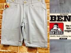 W30/新品!ベンデイビス.BEN'S.BDW-5510.灰色.ショートパンツ./定価¥7128