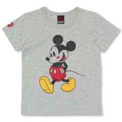 新品BABYDOLL☆140 ディズニー ミッキー Tシャツ グレー ベビードール