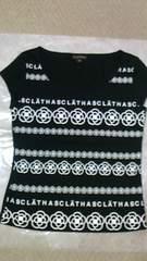 新品CLATHAS クレイサス 半袖 Tシャツ 黒 カメリア 38