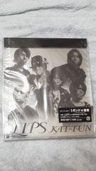 未開封品美品KAT-TUN「LIPS」初回プレス仕様(全6曲収録)オマケ付