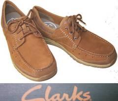 クラークス新品CLARKSカジュアル デッキ シューズ63627us9.5