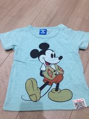 ライトオン人気完売半袖Tシャツ90ミッキー ディズニージーンズ