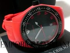 【専用箱・購入証明付】美品 エンポリオ・アルマーニ 大型腕時計