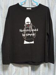 黒の長袖Tシャツ★Mサイズ〜美品★
