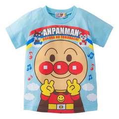 *ANPANMAN*アンパンマンどーんとピースTシャツ*90�a*新品*保育園・遊び着に*