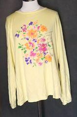 大きいサイズ長袖Tシャツ4L