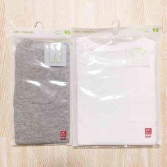 新品 ユニクロ クルーネック Tシャツ 半袖 レギンス 7分丈