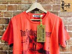 表記M/新品!エンドレスサマー USA映画 サーフプリント Tシャツ TES カリフォルニアスタイル