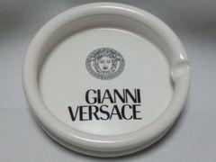 正規新古 非売 ヴェルサーチ VERSACE メデューサロゴ 灰皿 白 アッシュトレイ 小物
