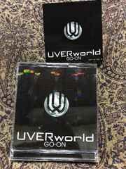 UVERworld GO-ON 初回限定盤DVD付き ステッカー付き
