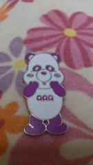 宇野さん 紫 え〜パンダピンズ