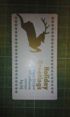 アメリカ33c切手帳(鹿$4.95)♪