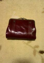 Dakota  ダコタ かな口タイプ 二つ折財布 新品未使用 ボルドー