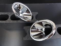 日産 バネット NV200 クロームメッキフォグライトリング 三菱デリカD:3