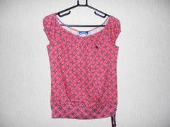 正規品 バーバリー ブルーレーベル カットソー ピンク サイズ38 美品