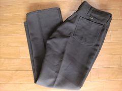 USA製 ラングラー スラックス スタプレ パンツ W35