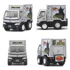 チョロQ 六健 オリジナル 限定 トヨタダイナ プロレス運輸 ミニカー トラック