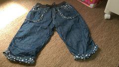 女の子用、七分丈ズボン150サイズ