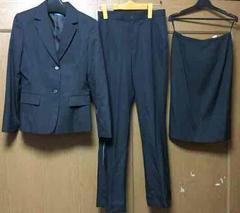 新品☆11AR67 リクルート 3点スーツ☆オフィススーツ3点セットa